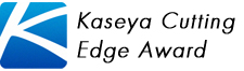 Received the Kaseya Cutting Edge Award