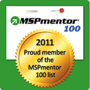 Placed on the MSPmentor Top 100 MSPs for the past two years!