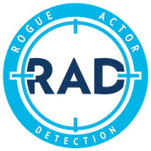 RAD Rogue Actor Detection Logo