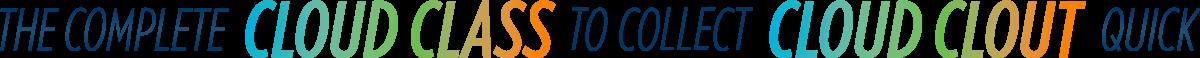Complete Cloud Class Logo (Long)