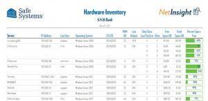 Hardware Inventory Report