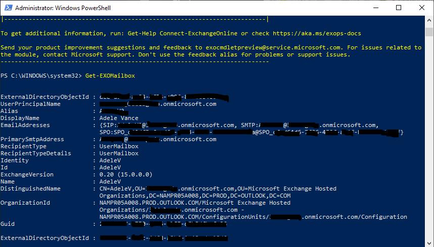 Securing Exchange - Code Example